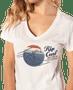 3 - Rip Curl női póló The Wave Tee, S, fehér