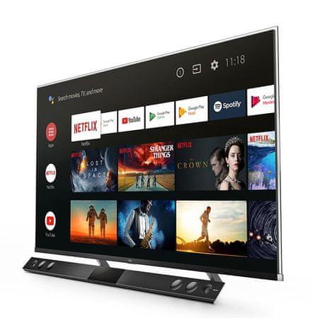 TCL 65X815 QLED, 4K-UHD, HDR, ONKYO Digital Atmos, Bluetooth, Android televizor