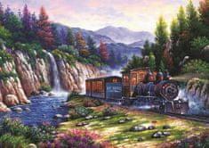 Art puzzle Puzzle Cestování vlakem 1000 dílků