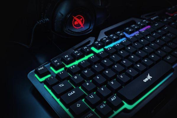 Herná klávesnica Niceboy ORYX K200, (oryx-k-200)