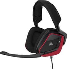 Corsair słuchawki gamingowe Void Elite Surround, czerwone (CA-9011206-EU)