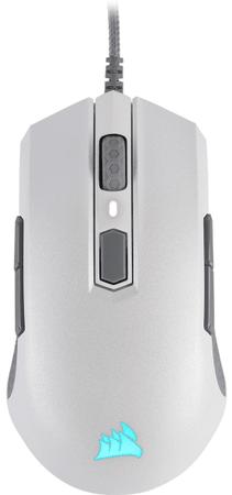 Corsair Mysz M55 RGB Pro, biała (CH-9308111-EU)