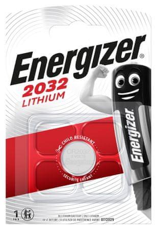 Energizer Energizer Lithium baterija CR2032, 1 komad