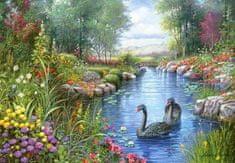 Castorland Puzzle Černé labutě 1500 dílků