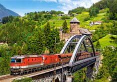 Castorland Puzzle Vlak na mostě 500 dílků