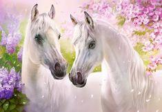 Castorland Puzzle Zamilovaní koně 1000 dílků