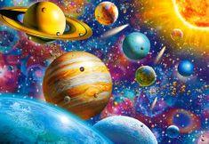 Castorland Puzzle Vesmír 1000 dílků