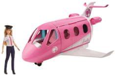 Mattel Barbie Lietadlo snov s pilotkou