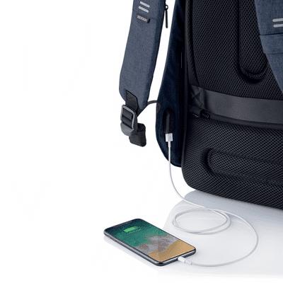XD Design nahrbtnik Bobby Hero Small, temno moder (P705.705) skriti žepi varnostni žepi RFID vgrajen polnilni kabel