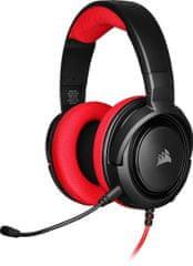 Corsair HS35 Stereo, červená (CA-9011198-EU)