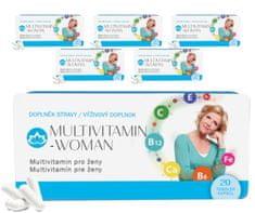 Novax 6x Multivitamin Woman (6x 20 tobolek)