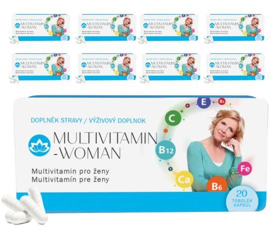 Novax 9x Multivitamin Woman (9x 20 tobolek)