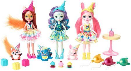 Mattel Enchantimals Rojstnodnevna zabava