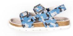 BF Chlapčenské celokožené sandálky BA5251117