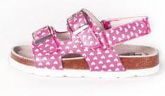 BF dievčenské celokožené sandálky BA5251118