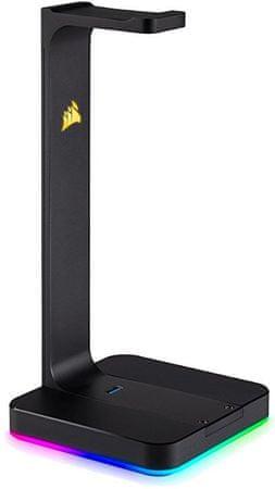 Corsair fülhallgató tartó ST100 RGB (CA-9011167-EU)