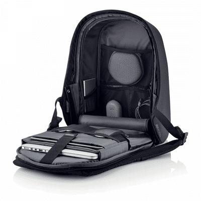 XD Design nahrbtnik Bobby Hero Regular, črn (P705.291) Pregleden notranji predal