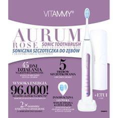 Vitammy AURUM ROSE sonická zubná kefka s funkciou leštenia