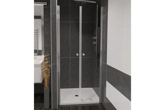 Well BETA 90 Čiré Sprchové dveře do niky dvoukřídlé