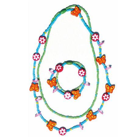 Komplet iz ogrlice in zapestnice, Set 2 x 2 kos