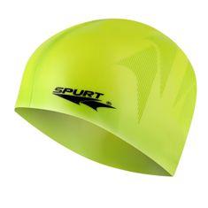 SPURT silikonová čepice s plastickým vzorem SE23, zelená