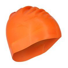 SPURT silikonová čepice G-Type men F202, oranžová