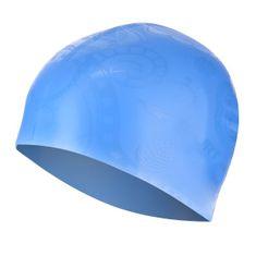 SPURT silikonová čepice se vzorem G-Type F224, modrá