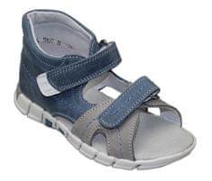 SANTÉ Zdravotní obuv dětská N/950/803/84/13 modrá