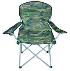 Linder Exclusiv Kemping szék MC2503 Camouflage
