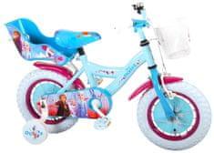 """Volare Detský bicykel pre dievčatá FROZEN II - modrý-ružový, 12"""" - zložený na 95 %"""