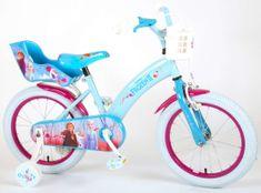 Volare Detský bicykel pre dievčatá FROZEN II - modrý-ružový, 16