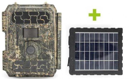Oxe  Panther 4G és napelem panel + 32GB SD kártya és 12db elem AJÁNDÉKBA!