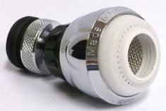 Samplus Perlátor kovový, kĺb krátky 498