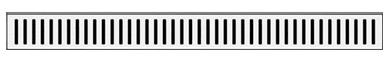 Samplus Mriežka na lineárny podlahový žľab SAMR1/700L LINE