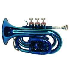 Dimavery Trubka , TP-300 B trubka kapesní, modrá