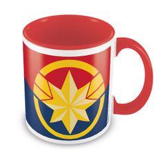 Avengers Hrnek Captain Marvel - Emblem