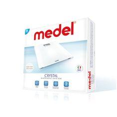 Medel CRYSTAL Elektronikus fürdőszoba mérleg 4 nyomásérzékelő rendszerrel