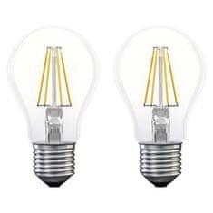 EMOS LED izzó Filament A60 A++ 6W E27 meleg fehér