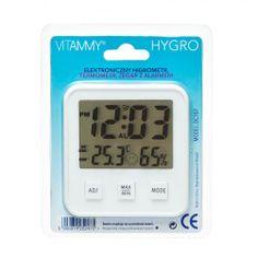 Vitammy HYGRO Higrometr i termometr domowy