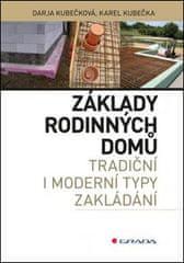 Karel Kubečka: Základy rodinných domů - tradiční i moderní typy zákládání