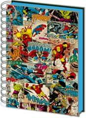 Avengers Proměňovací blok Marvel - Comic Splash, A5