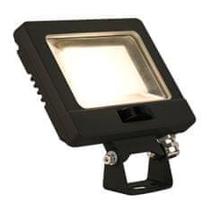 BIG WHITE BIG WHITE SPOODI SENSOR LED venkovní nástěnné nástavbové svítidlo, 11W, černá, 3000K 232860