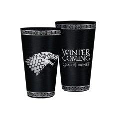 Game of Thrones Sklenice Hra o trůny - Stark (0,5 l)
