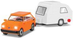 Cobi 24591 Lengyel Fiat 126 el karavánnal