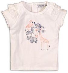 Dirkje dievčenské tričko so zvieratkami