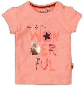 Dirkje koszulka dziewczęca Wonderful 86 pomarańczowa