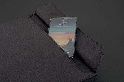 puzdro XD Design Organizér pre elektronické vybavenie (P788.011) predné vrecko na telefón