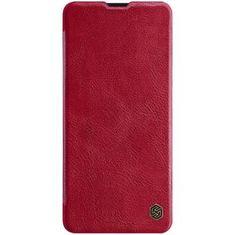 Nillkin Qin Book Pouzdro pro Xiaomi Note 10 Pro Red (2449869)