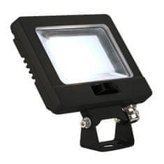 BIG WHITE BIG WHITE SPOODI SENSOR LED venkovní nástěnné nástavbové svítidlo, 11W, černá, 4000K 232870