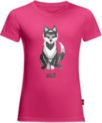 Jack Wolfskin Koszulka dziewczęca WOLF T KIDS
